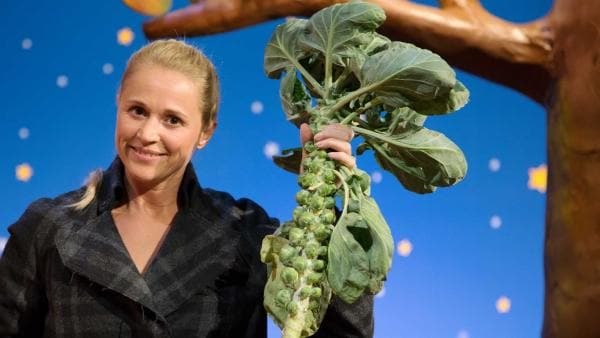 Singa erntet Gemüse im Winter. | Rechte: KiKA/Tizian Hempel