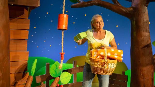 Singa möchte Picknicken. | Rechte: KiKA/Vanessa Loos