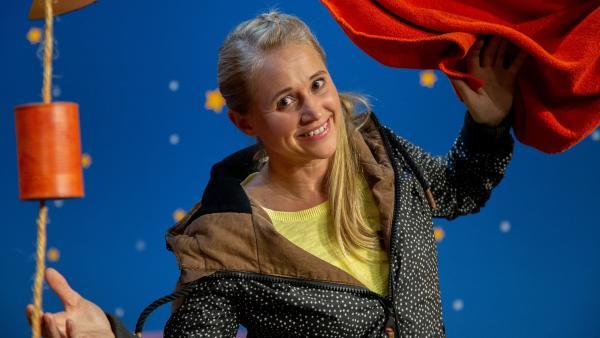 Singa erzählt von viel Applaus. | Rechte: KiKA/Dorit Jackermeier