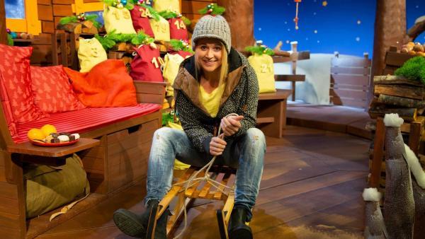Singa wünscht sich Schnee zum Schlittenfahren. | Rechte: KiKA/Nadja Usbeck