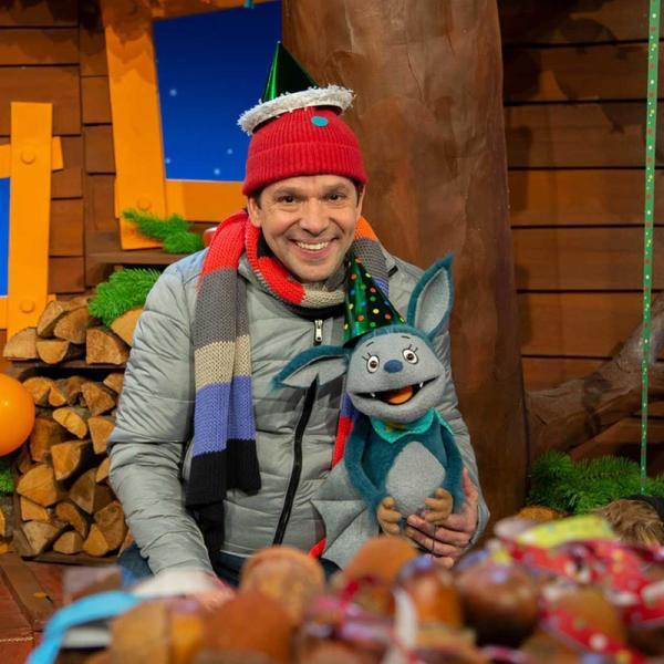 Juri und Fidi feiern Silvester. | Rechte: KiKA/Dorit Jackermeier