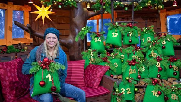 Singa und der Baumhaus-Adventskalender | Rechte: KiKA/Josefine Liesfeld