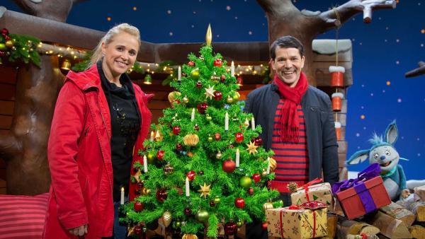Singa, Juri und Fidi feien Weihnachten. | Rechte: KiKA/Josefine Liesfeld