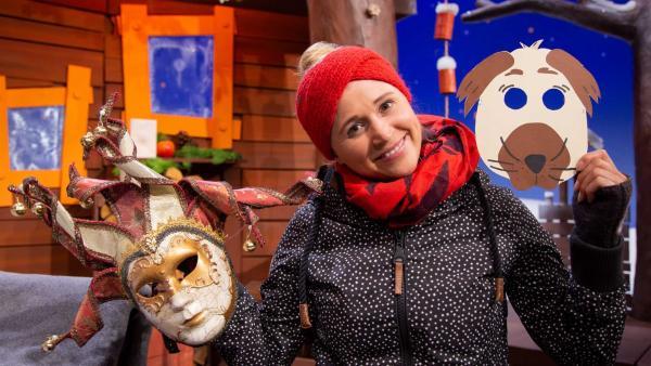 Singa erklärt besondere Faschingsbräuche. | Rechte: KiKA/Josefine Liesfeld