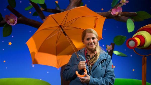 Singa im Regen. | Rechte: KiKA/Josefine Liesfeld