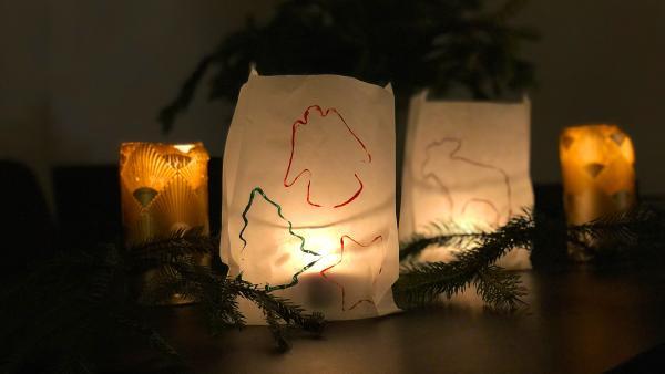 Leuchttüte | Rechte: KiKA