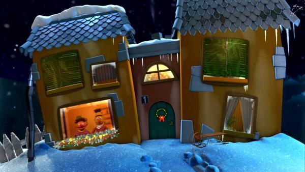 Ernie und Bert sagen Gute-Nacht | Rechte: KiKA