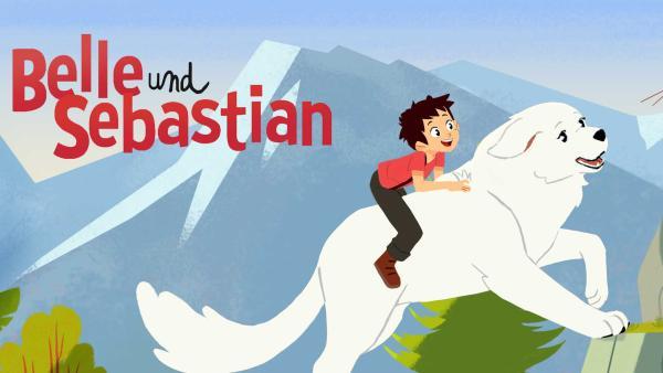 Sebastian reitet auf Hündin Belles Rücken | Rechte: ZDF/Gaumont Animation/PP Animation III Inc.