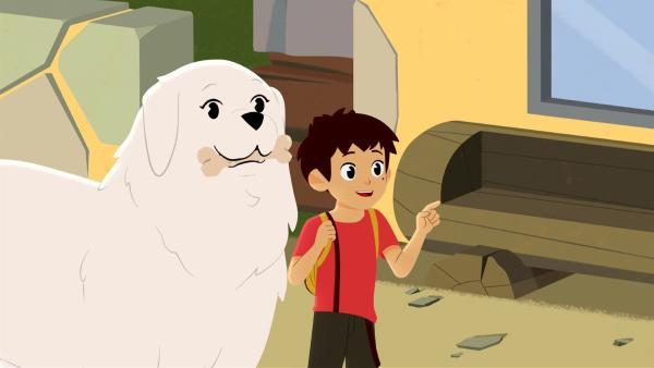 Ein neues Heim für Tiere wurde in den Bergen eröffnet. | Rechte: ZDF/Gaumont Animation/PP Animation III Inc.