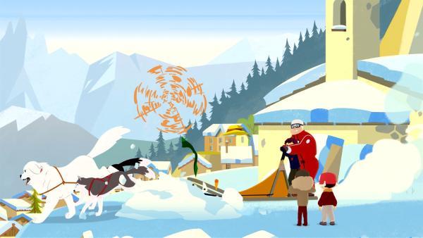 Belle hat die Aufgabe des Leittiers übernommen. | Rechte: ZDF/Gaumont Animation/PP Animation III Inc.