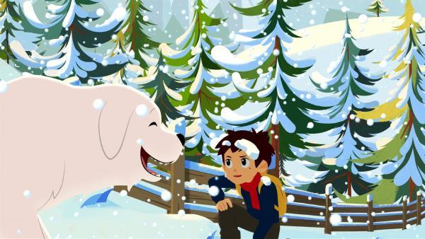 Sebastian verspricht Belle nach der Schule einen Spaziergang zu machen. | Rechte: ZDF/Gaumont Animation/PP Animation III Inc.