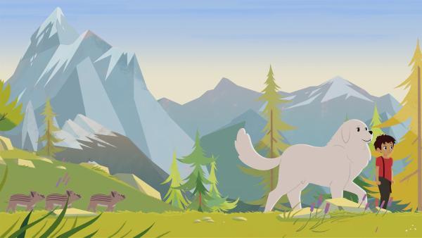 Belle und Sebastian haben süßen Nachwuchs. | Rechte: ZDF/Gaumont Animation