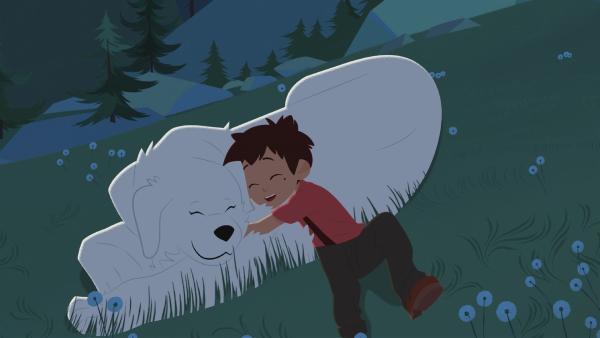 Belle und Sebastian wünschen sich was.   Rechte: ZDF/Gaumont Animation