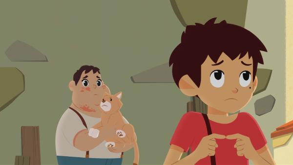 Wo könnte nur der Übeltäter sein, der die Flöhe ins Dorf bringt?   Rechte: ZDF/Gaumont Animation