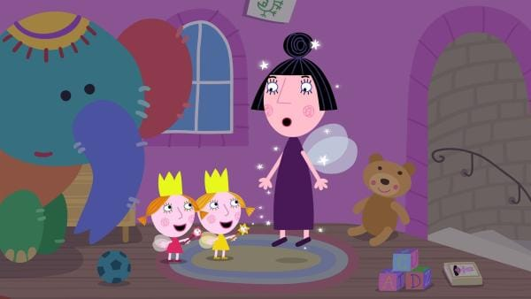 Die Zwillinge Daisy und Poppy sind mal wieder sehr ungezogen.  | Rechte: ZDF/Astley Baker Davies Ltd/Rubber Duck Entertainment