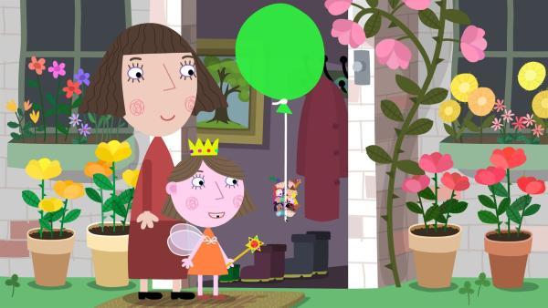 Zu Lucys Geburtstagsparty kommen auch ihre kleinen Elfen- und Feenfreunde aus dem kleinen Königreich. | Rechte: ZDF/Astley Baker Davies Ltd/Rubber Duck Entertainment
