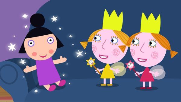 Die Zwillinge Daisy und Poppy haben Geburtstag und stellen wieder einmal nur Unfug an. | Rechte: ZDF/Contender Entertainment