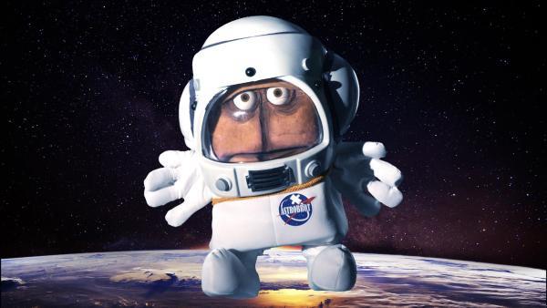 Bernd das Brot will in den Weltraum fliegen.   Rechte: KiKA/bumm film