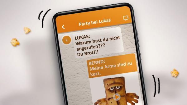 Bernd das Brot | Rechte: KiKA