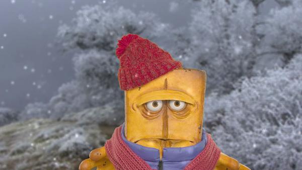 Bernd friert fest | Rechte: KiKA