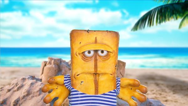Pausenbrot - heißer Sand | Rechte: KiKA