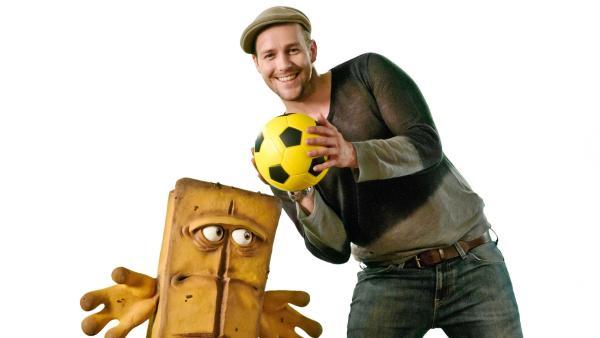 Fußball - mit Ben | Rechte: KI.KA/Hendrik Heiden