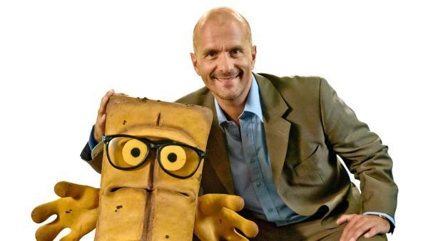 Bernd & Friends - Bernd das Brot mit den besten Witzen aller Zeiten mit Christoph Maria Herbst. | Rechte: KI.KA/Hendrik Heiden