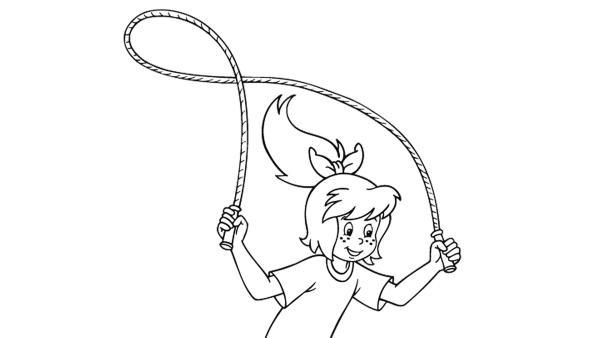 Bibi springt Seil | Rechte: kika