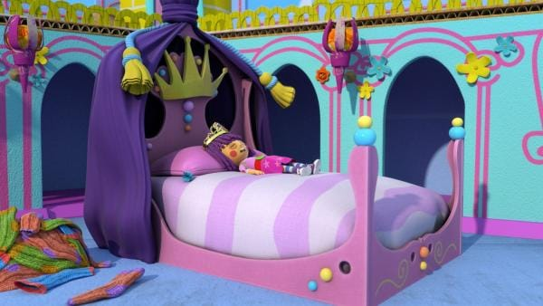 Prinzessin Fleur ist für 1000 Jahre tief eingeschlafen. | Rechte: KiKA/BBC/Boat Rocker Rights Inc. MMXVIII