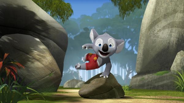 Der junge Koala Blinky Bill wäre am liebsten ein großer Abenteurer. | Rechte: KiKA/Assemblage Entertainment/Flying Bark Productions/Telegael