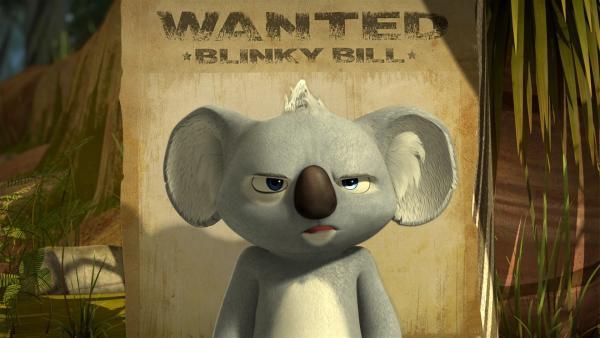 Jacko hat doch tatsächlich ein Kopfgeld auf Blinky ausgesetzt. | Rechte: KiKA/Studio 100 Media / Flying Bark