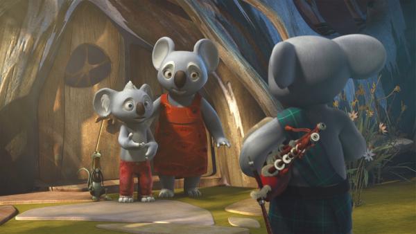 Blinky und seine Familie bekommen Besuch von ihrem Onkel Bill aus den schottischen Highlands.  | Rechte: KiKA/Studio 100 Media / Flying Bark