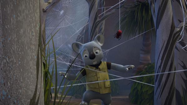 Blinkys Vater kämpft sich tapfer über jede Hürde. | Rechte: KiKA/Studio 100 Media / Flying Bark