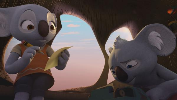 Blinky, Katie und die anderen  inszenieren das Stück heimlich um. | Rechte: KiKA/Studio 100 Media / Flying Bark