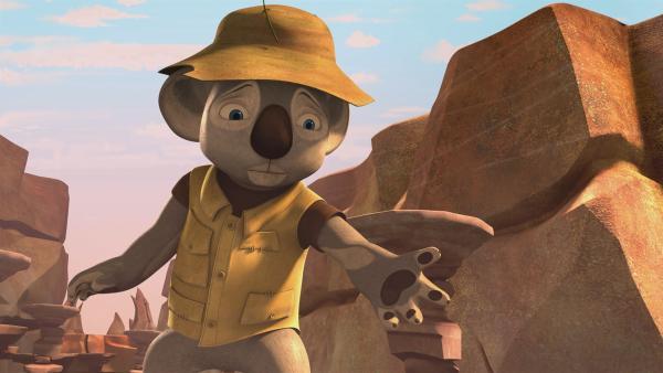 Blinky schlüpft in die Rolle seines Vater, des wahren Gründers von Greenville. | Rechte: KiKA/Studio 100 Media / Flying Bark