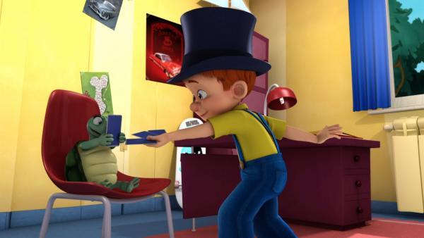 Reicht ein einziger Trick für eine Zaubershow?   Rechte: NDR/Studio Boule et Bill
