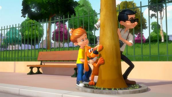 Auch Papa hat das Zeug zum Spion! | Rechte: NDR/Studio Boule et Bill