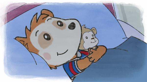 Heute kann Bobo einfach nicht einschlafen. Sogar als Mama und Papa schon friedlich schnarchen, liegt Bobo immer noch wach in seinem Bett. | Rechte: JEP ANIMATION/WDR