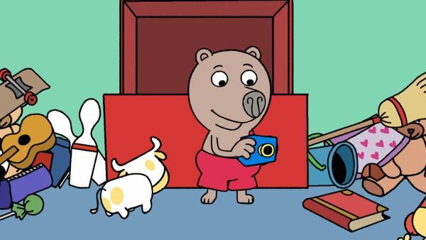 In Boris' Fantasie erwachen seine Spielsachen zum Leben und werden zu seinen Komplizen im Alltag. | Rechte: MDR/Les Films de l'Alequin/Motion Works/FilmVermoegen