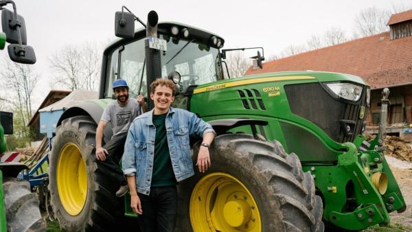 Der Traktor-Check | Checker Julian bei Gemüsebauer Mogli. | Bild: BR | megaherz film- und fernsehen gmbh | Rechte: BR | megaherz film- und fernsehen gmbh