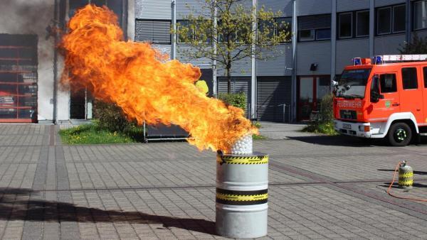 Ein loderndes Inferno in der Mülltonne | Rechte: ZDF