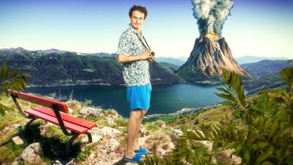 Vulkane in Deutchland | Checker Julian träumt davon, einen speienden Vulkan zu fotografieren. | Bild: BR | megaherz gmbh | Rechte: BR | megaherz gmbh