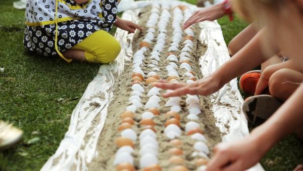 Der Rohe-Eier-Lauf?! | Bild: BR | Rechte: BR
