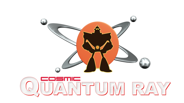 "Sendungslogo ""Cosmic Quantum Ray"""