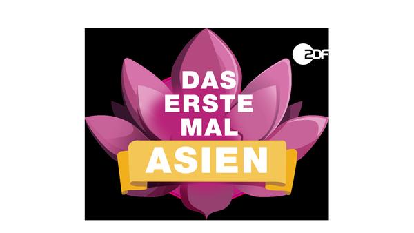 "Logo ""Das erste Mal ... Asien!"" | Rechte: ZDF"