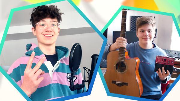 Liam und Moritz | Rechte: KiKA