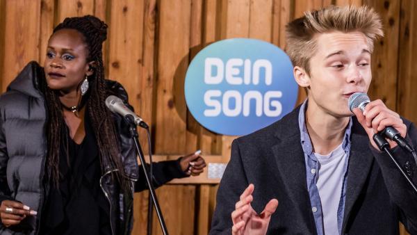 Lion und Sherita singen gemeinsam | Rechte: Marie Jose Sombeek