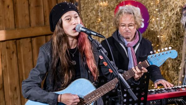Sarahs Auftritt im Komponisten-Camp | Rechte: Marie Jose Sombeek
