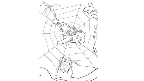 Spinne   Rechte: KiKA/Collingwood O'Hare Prod./Portfolio Entertain./Random House Children E./Treehouse TV