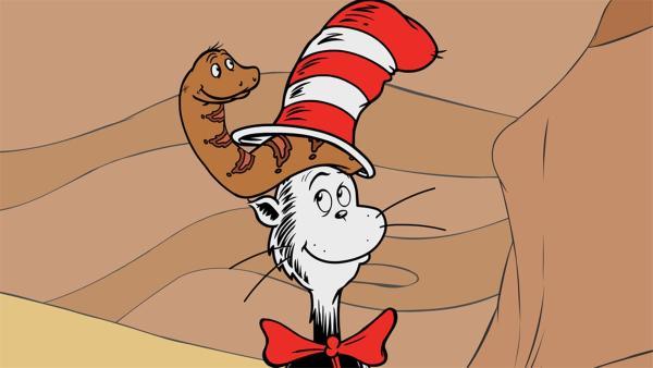 Slide, die Schlange, hat ein ähnliches Problem wie Nick. Ihre Haut ist ihr zu klein | Rechte: KiKA/Collingwood O'Hare Prod./Portfolio Entertain./Random House Children E./Treehouse TV